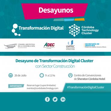 """""""Desayuno de Transformación Digital CTC con Sector Construcción"""