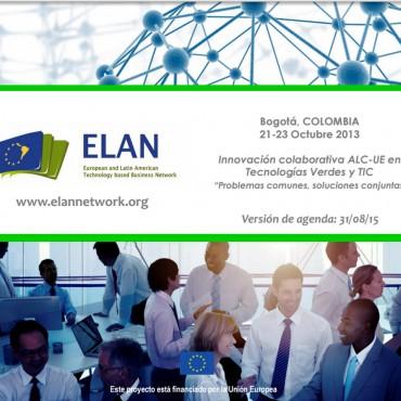 21 al 23 de Oct. - ELAN Network e Bogotá-Colombia