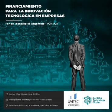 Charla: FINANCIAMIENTO PARA LA INNOVACIÓN TECNOLÓGICA EN EMPRESAS