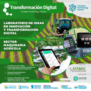 09/11 [SECTOR MAQUINARIA AGRÍCOLA] Laboratorio de Ideas en Innovación y Transformación Digital