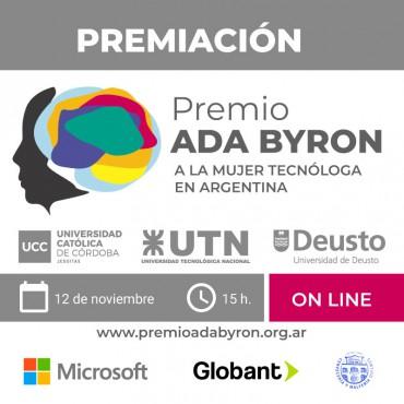 [INVITACIÓN] Evento de Premiación a la Mujer Tecnóloga en Argentina Ada Byron Ar