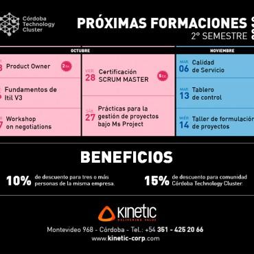 15% OFF en Cursos Convenio CTC + Kinetic