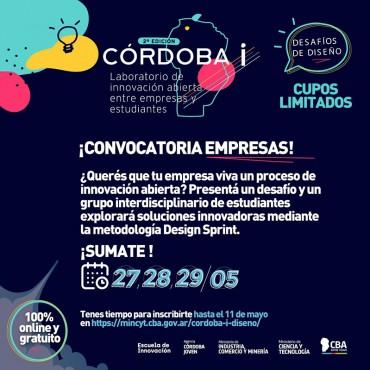 [INVITACION] Córdoba i: Laboratorio de Innovación - Convocatoria para EMPRESAS
