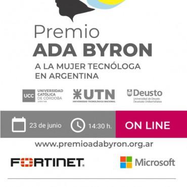 23/06 [INVITACIÓN]: Premio Ada Byron Argentina/ 2º Edición 2021