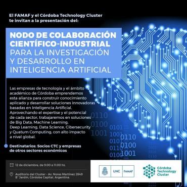 Presentación del Nodo de Colaboración Científico - Industrial para Investigación y Desarrollo en Inteligencia Artificial