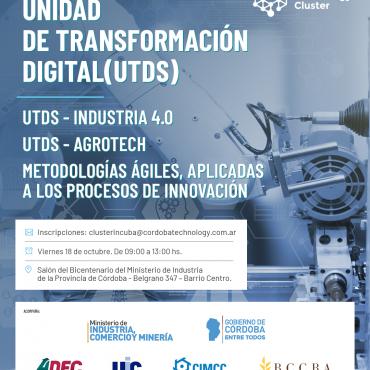 18/10 [3° ENCUENTRO]: Unidades de Transformación Digital - UTDS