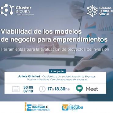 30/09 [INVITACIÓN] Capacitación: Viabilidad de los modelos de negocio para emprendimientos