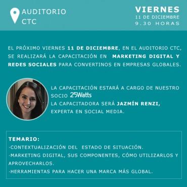 11/12 CAPACITACIÓN - Marketing Digital para una marca global.