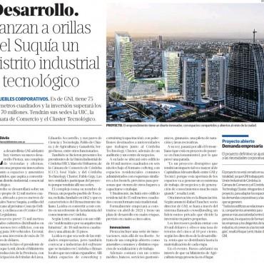 Lanzan a orillas del Suquía un distrito industrial y tecnológico