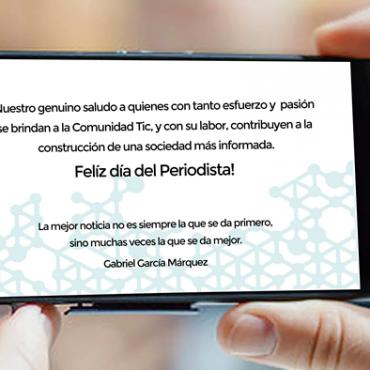 Feliz día del periodista, son los deseos del Córdoba Technology Cluster