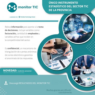 [RESULTADOS] Medición Monitor TIC / JULIO  2020