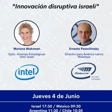 04/06 [INVITACIÓN]: Conferencia Innovación disruptiva israelí