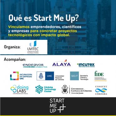 29/10 Invitación - Start Me Up: un espacio de networking
