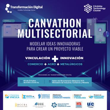 02/10 CANVATHON MULTISECTORIAL: Modelar Ideas innovadoras para crear un proyecto viable