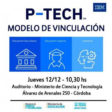 12/12 [INVITACIÓN]: Presentación P-TECH - Un Modelo Innovador de Escuela Pública