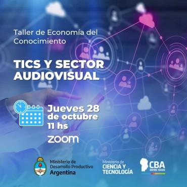 28/10 [INVITACIÓN] Taller LEC para Sector TICs y Audiovisual