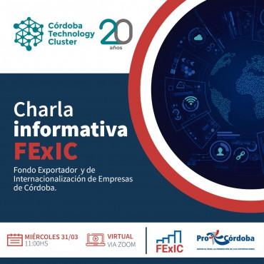 31/03  [INVITACIÓN] Charla Informativa FExIC - Promoción para la Exportación e Internacionalización