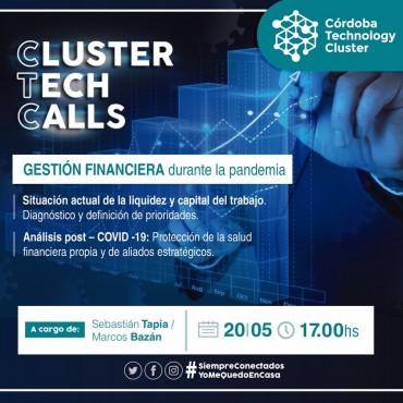 20/05 [INVITACIÓN]: [Cluster Tech Calls]: Gestión Financiera durante la pandemia