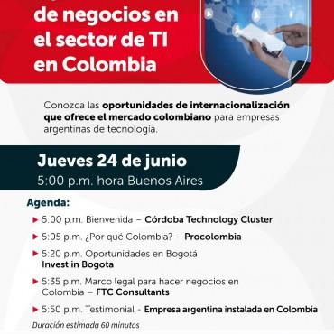 24/06 [INVITACIÓN] Seminario inversión de Invest in Bogotá