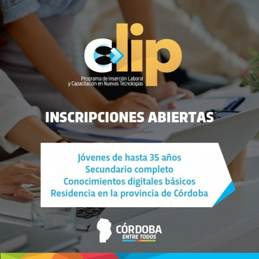 [CLIP]: Sumate! Programa de Inserción Laboral y Capacitación en Nuevas Tecnologías
