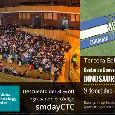 09/10 El Cluster te invita al Social Media Day Córdoba