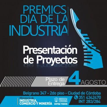 Convocatoria de Presentación de Proyectos para los Premios Día de la Industria Edición 2017