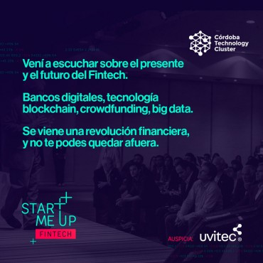 26/07 [INVITACIÓN] Start Me Up / Fintech