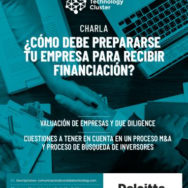 05/12 [INVITACIÓN] ¿Cómo debe prepararse tu empresa para recibir financiación?