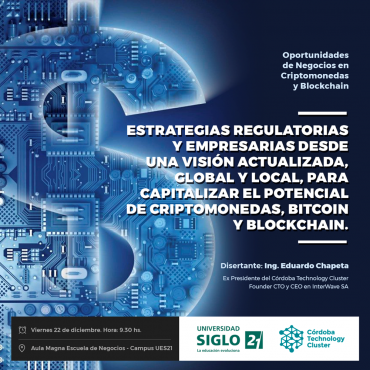Conferencia: Oportunidades de Negocios en Criptomonedas y Blockchain