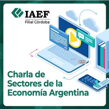 20/05 [INVITACIÓN]: Charla de Sectores de la Economía Argentina