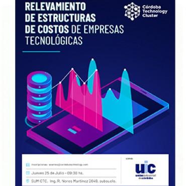 25/07 [INVITACIÓN]: Relevamiento de Estructuras de Costos de Empresas Tecnológicas