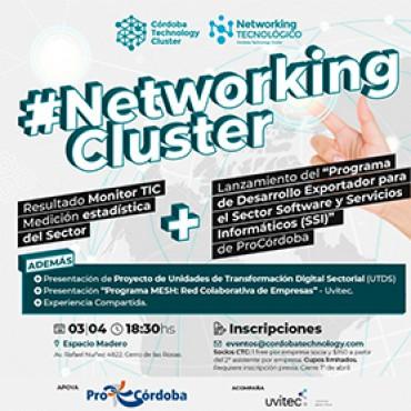 03/04 [INVITACIÓN] NETWORKING CLUSTER / Monitor TIC / Programa de Desarrollo Exportador SSI / MESH