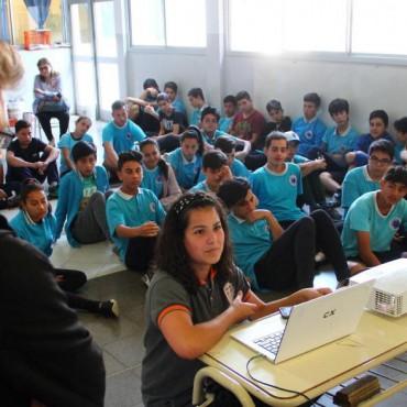 """Alumnos """"viralizan"""" la seguridad informática en las escuelas"""