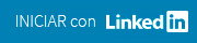 Iniciar con Linkedin